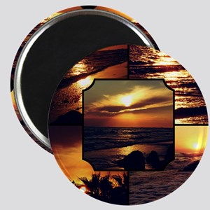 Sunset Collage Magnet