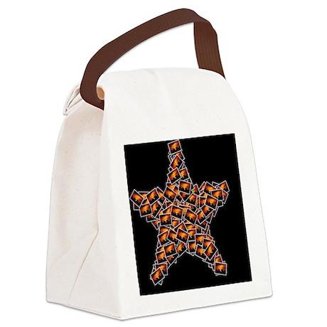 Sunset as a Star Art Canvas Lunch Bag