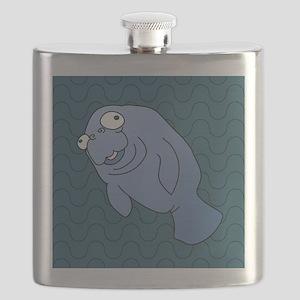 Manatee Flask