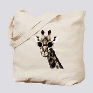 Giraffe With Steampunk Sunglasses Goggles Tote Bag
