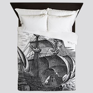 Man of War Queen Duvet