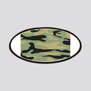Green Army Camo Patches