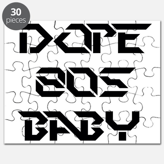 Dope 80s Baby Puzzle