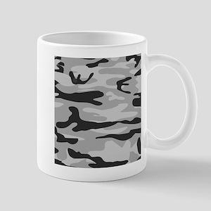 Grey Army Camo Mugs