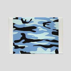 Light Blue Army Camo Magnets
