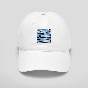 Light Blue Army Camo Cap
