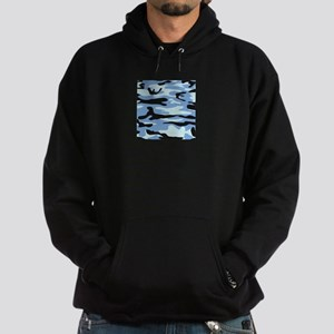 Light Blue Army Camo Hoody