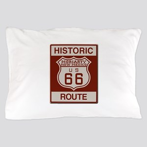 Moriarty NM Route 66 Pillow Case
