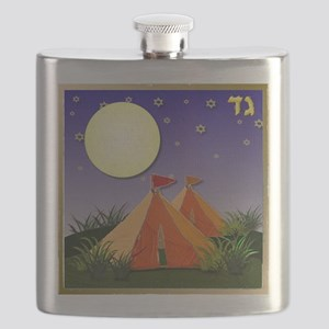 12 tribes Israel Gad Flask