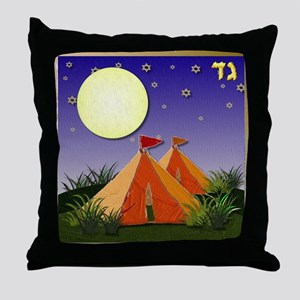 12 tribes Israel Gad Throw Pillow