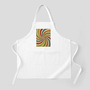 Psychedelic Retro Swirl Apron