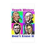 Let's Teach History Sticker