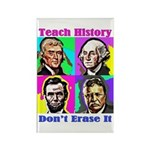 Let's Teach History Magnets
