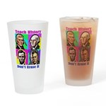 Let's Teach History Drinking Glass