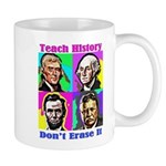 Let's Teach History Mugs