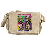 Let's Teach History Messenger Bag