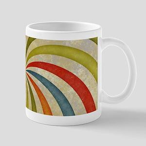 Psychedelic Retro Swirl Mugs