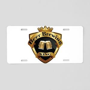 Golden Beer Brewing King Crown Crest Aluminum Lice