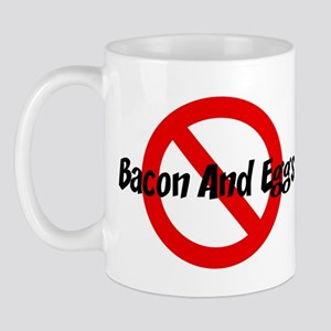 Anti Bacon And Eggs Mug