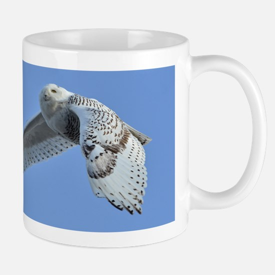 Snowy flying Mug