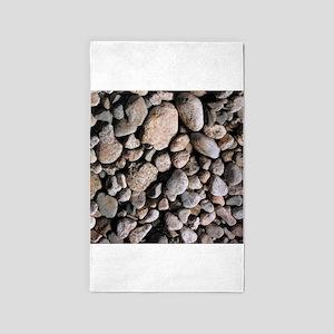 Rocks 3'x5' Area Rug