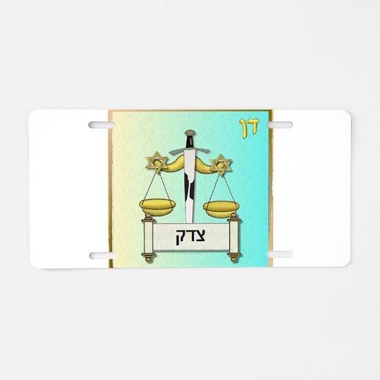 12 Tribes Israel Dan Aluminum License Plate