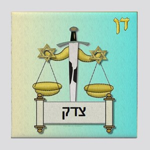12 Tribes Israel Dan Tile Coaster