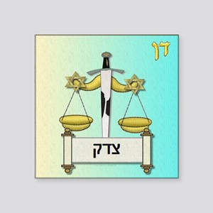 12 Tribes Israel Dan Sticker