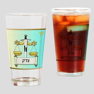 12 Tribes Israel Dan Drinking Glass