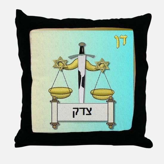 12 Tribes Israel Dan Throw Pillow