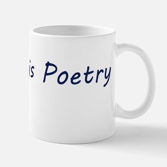 Code Is Poetry Mug Mugs