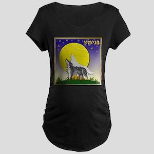12 Tribes Israel Benjamin Maternity T-Shirt