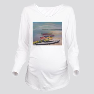 KAYAKING TRIP Long Sleeve Maternity T-Shirt