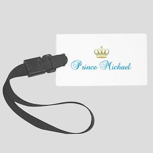 Prince Michael Large Luggage Tag