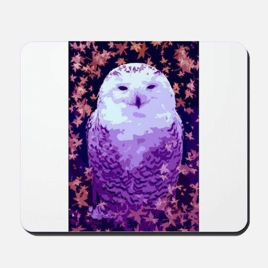 Autumn Owl Mousepad