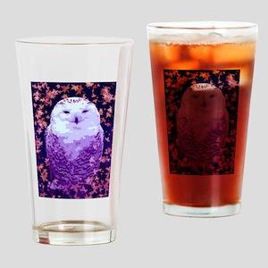 Autumn Owl Drinking Glass