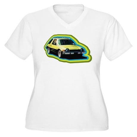 AMC PACER Women's Plus Size V-Neck T-Shirt