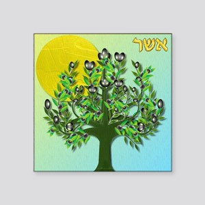 12 Tribes Israel Asher Sticker