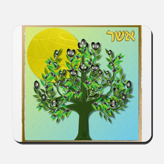 12 Tribes Israel Asher Mousepad
