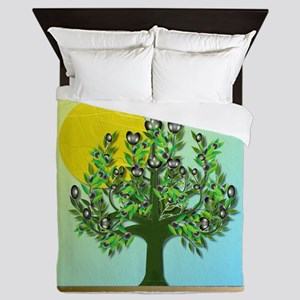 12 Tribes Israel Asher Queen Duvet
