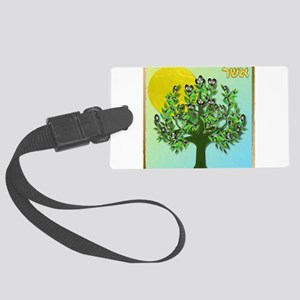 12 Tribes Israel Asher Luggage Tag