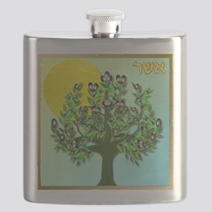 12 Tribes Israel Asher Flask
