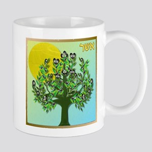 12 Tribes Israel Asher Mugs