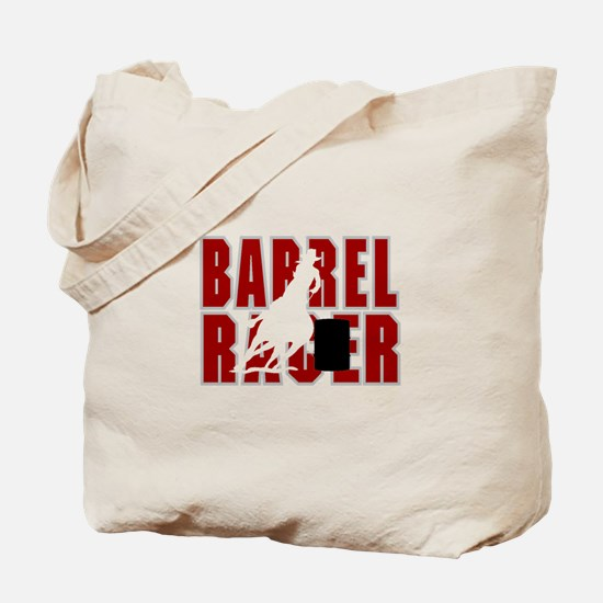 BARREL RACER [maroon] Tote Bag