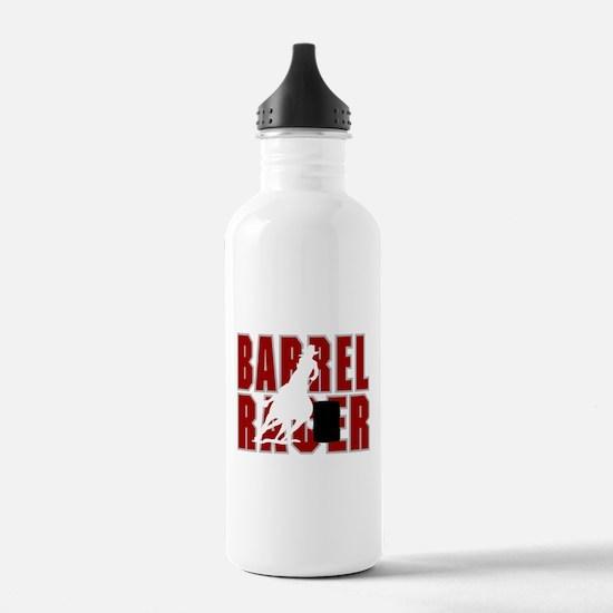 BARREL RACER [maroon] Water Bottle