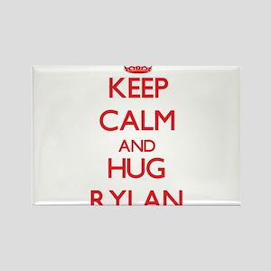 Keep Calm and HUG Rylan Magnets