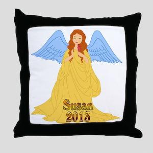 Susan 2013 Throw Pillow