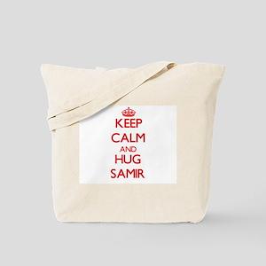 Keep Calm and HUG Samir Tote Bag