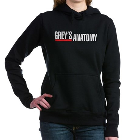 Greys Anatomy Logo Hooded Sweatshirt