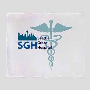 SGH Middle Throw Blanket